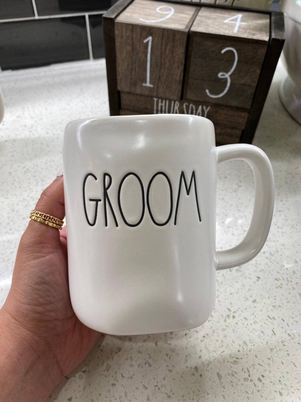 Rae Dunn Groom Mug