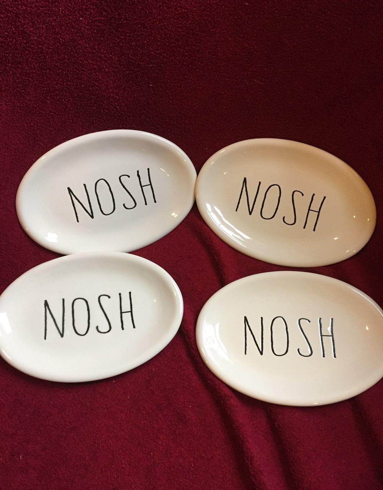 Nosh Ovals Set 4 NOT Rae Dunn