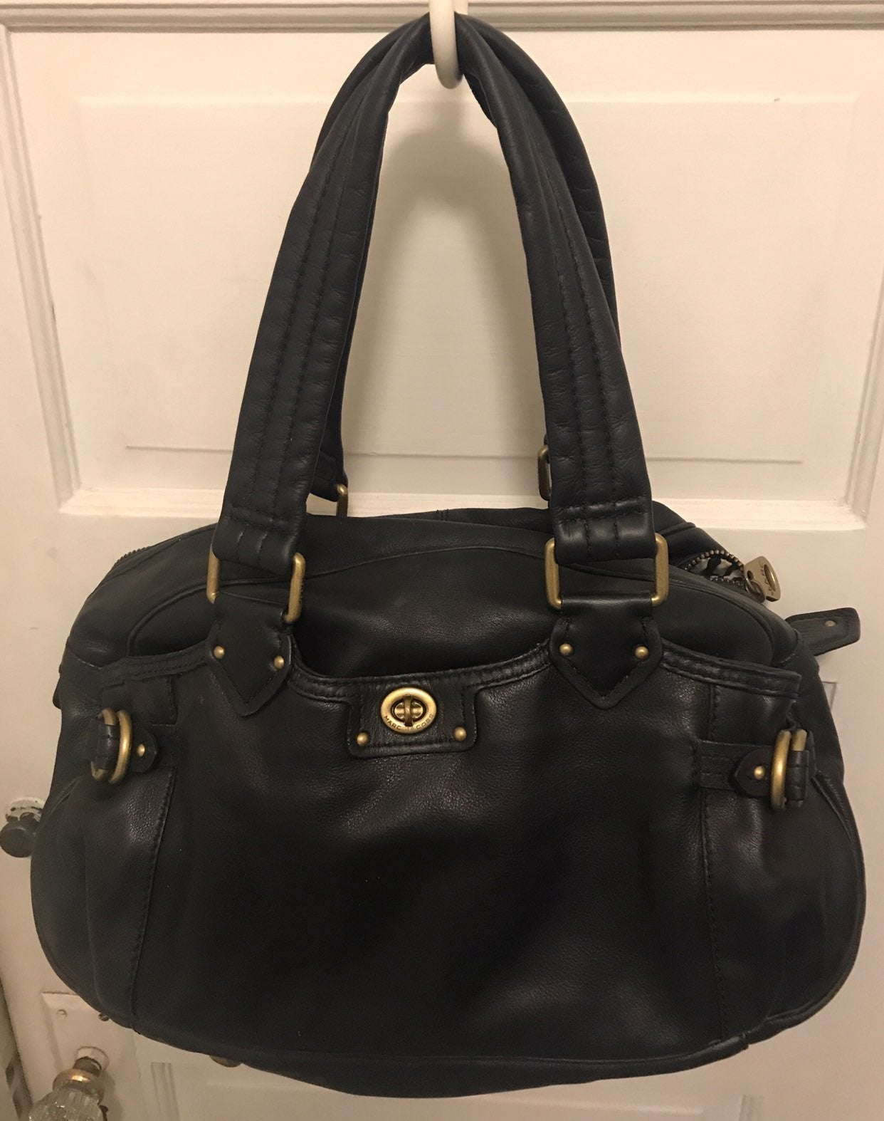 leater purse maco jaccoas excellent cond