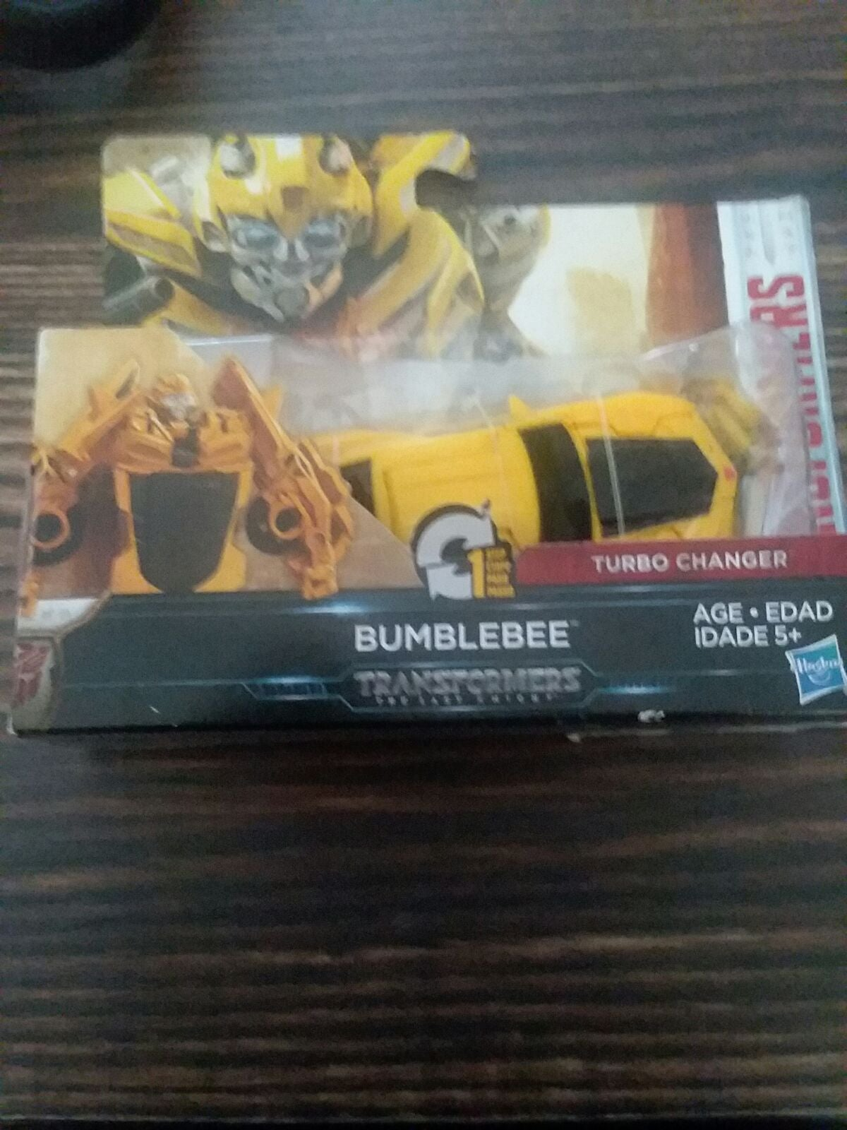Bumblebee Transformer Hasbro toy 1 touch