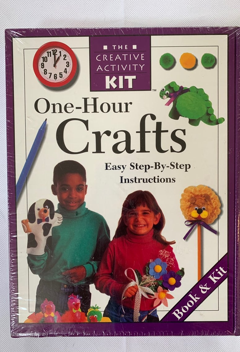 Creative Crafts Activity Book & Kit
