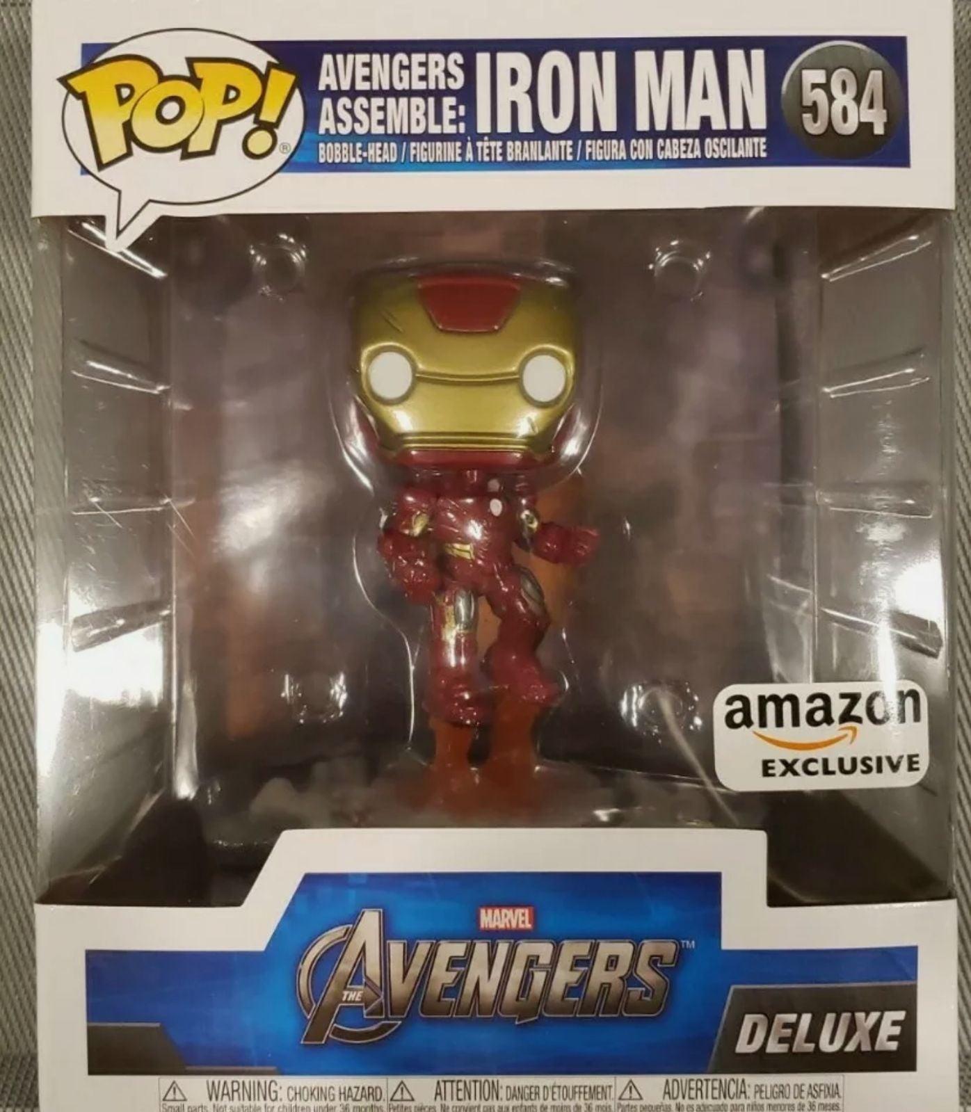 Avengers Assemble Iron Man Deluxe Funko