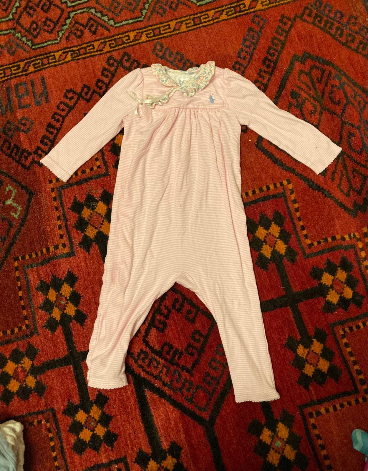Ralph Lauren baby pajamas
