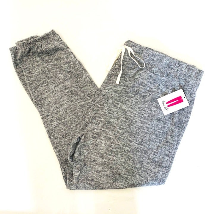 NWT Dark Gray Knit Joggers Plus Size 3X