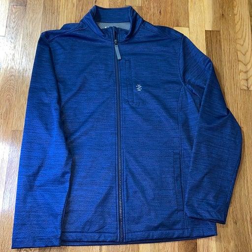 Izod Golf Men's L Blue Stretch Jacket