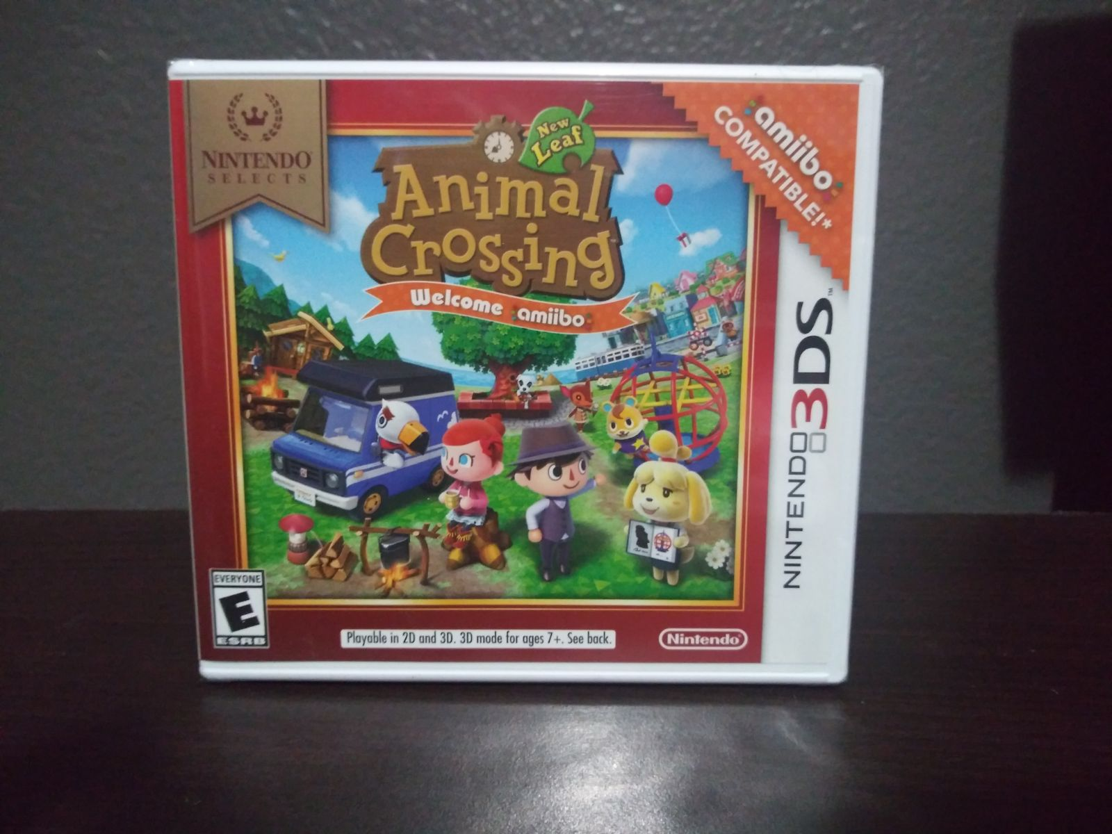 Animal Crossing New Leaf 3DS Sealed New