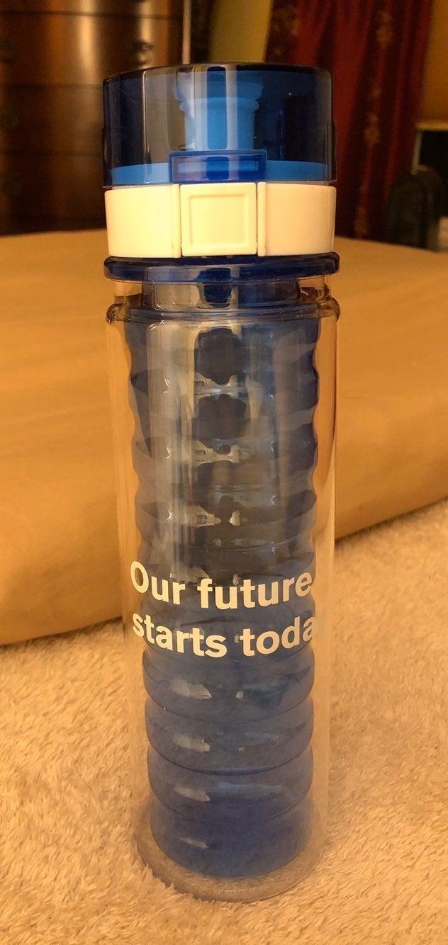 Water bottle plastic BPA free