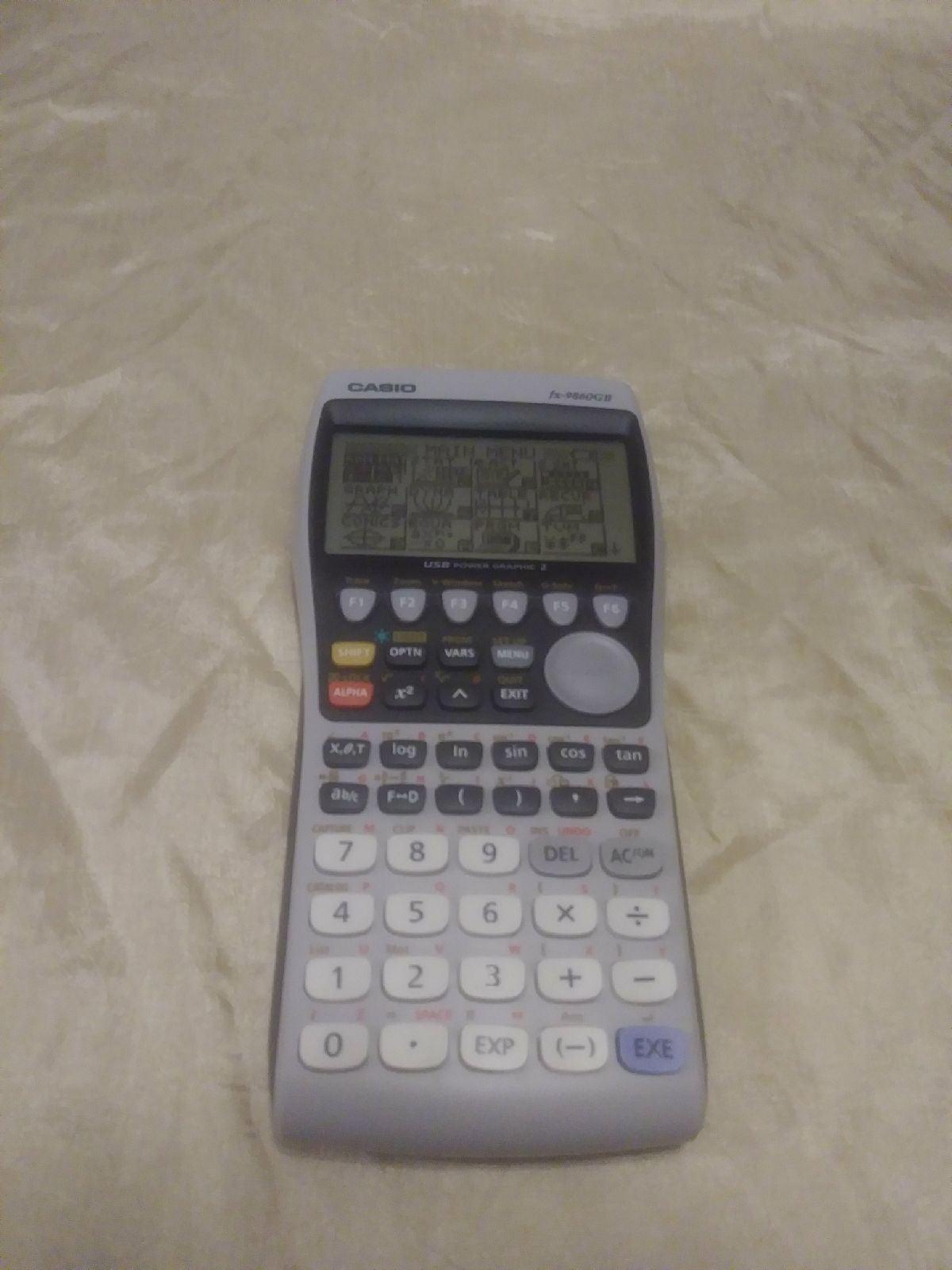 Casio Usb Graphing Calculator fx-9860GII