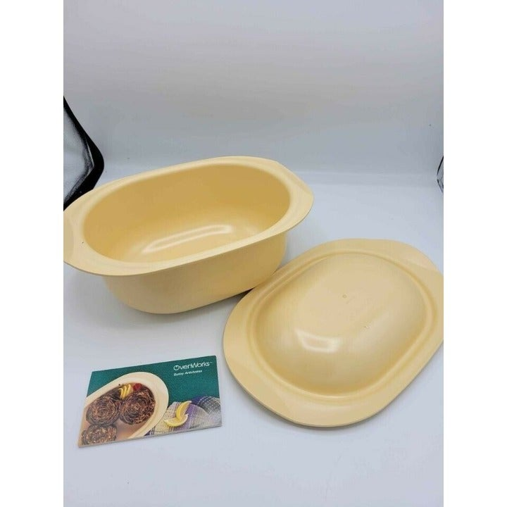 VINTAGE Tupperware 3pc Oven Works 3Qt Ul