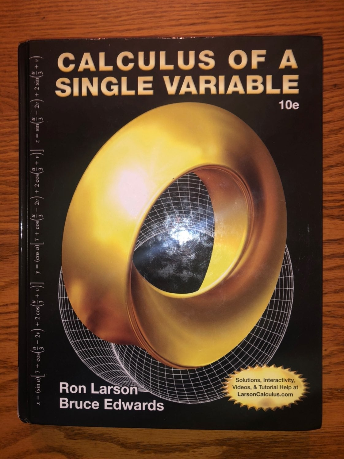 Calculus 1 and 2 textbook