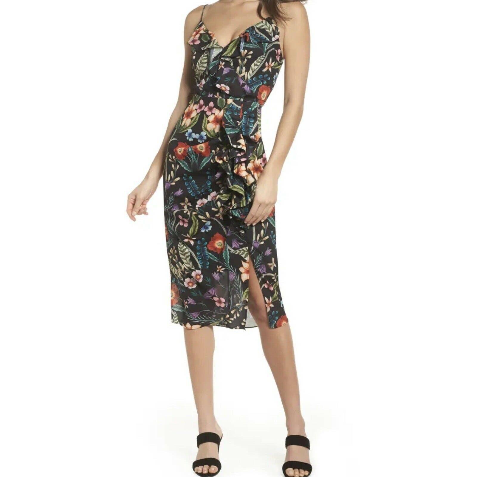 Cooper St Gardenia Cocktail Midi Dress