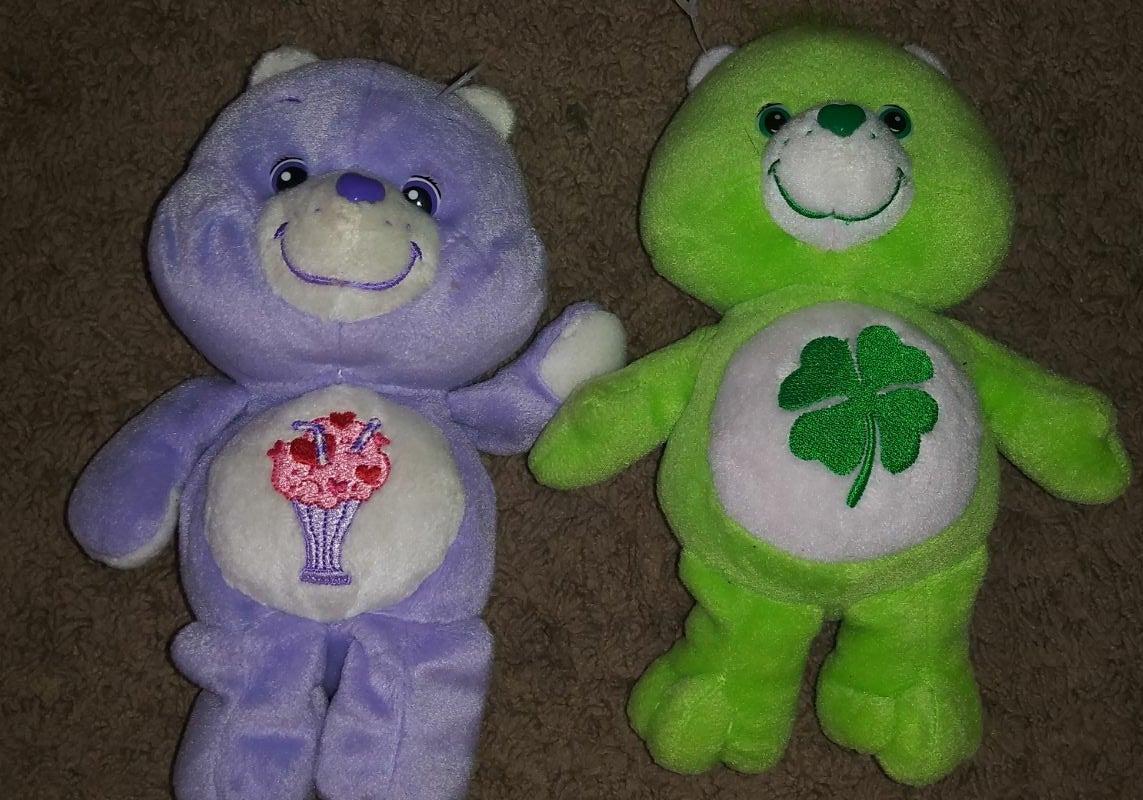 Care bears plush toy lot