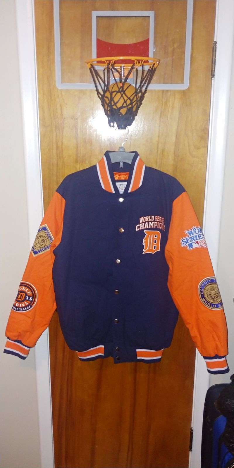 DETROIT TIGERS 4 TIME WORLD SERIES Jacke
