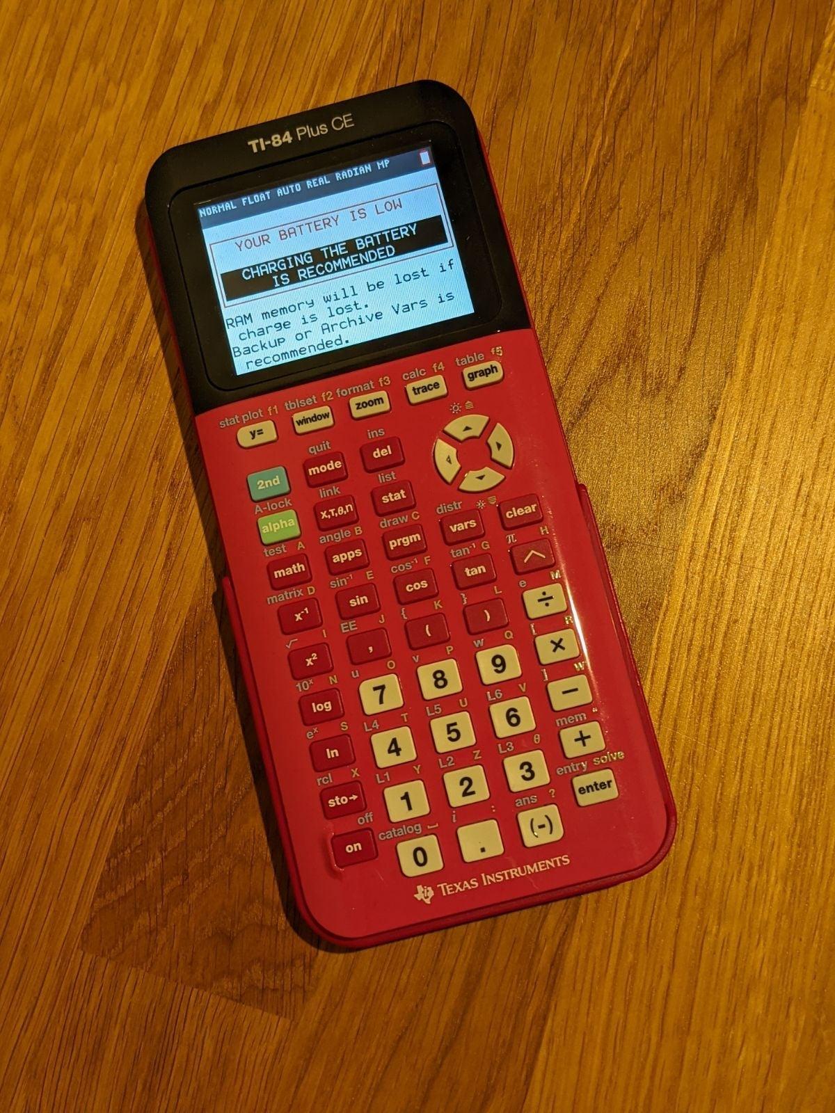 Texas Instruments TI-84 Plus CE - Pink
