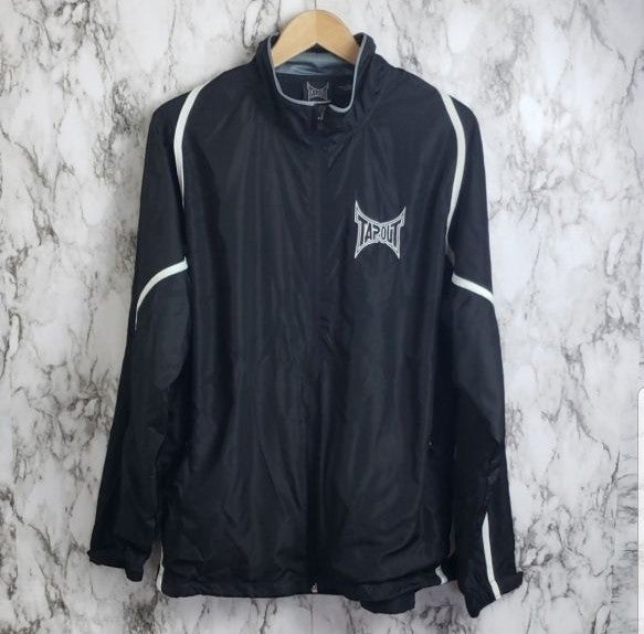 Tapout Track Jacket Black