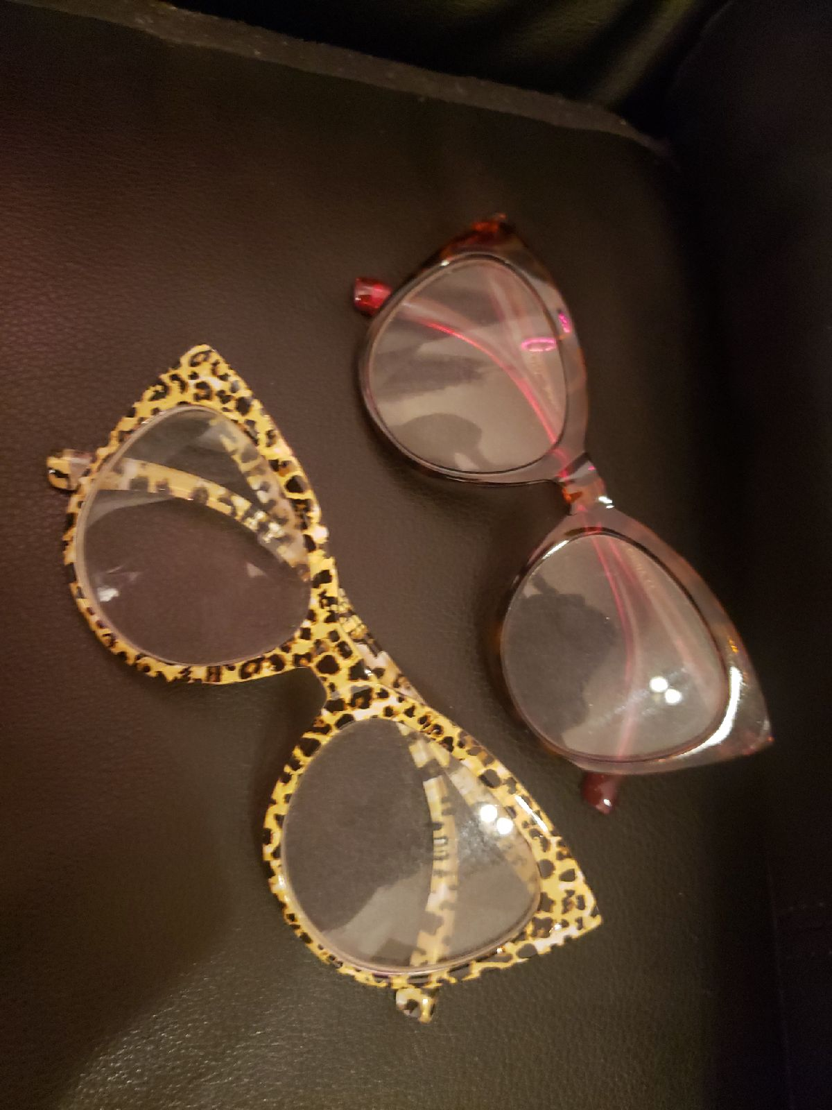 Betsey Johnson glasses