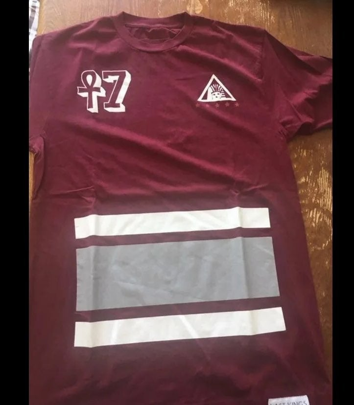 Last Kings Maroon T-Shirt