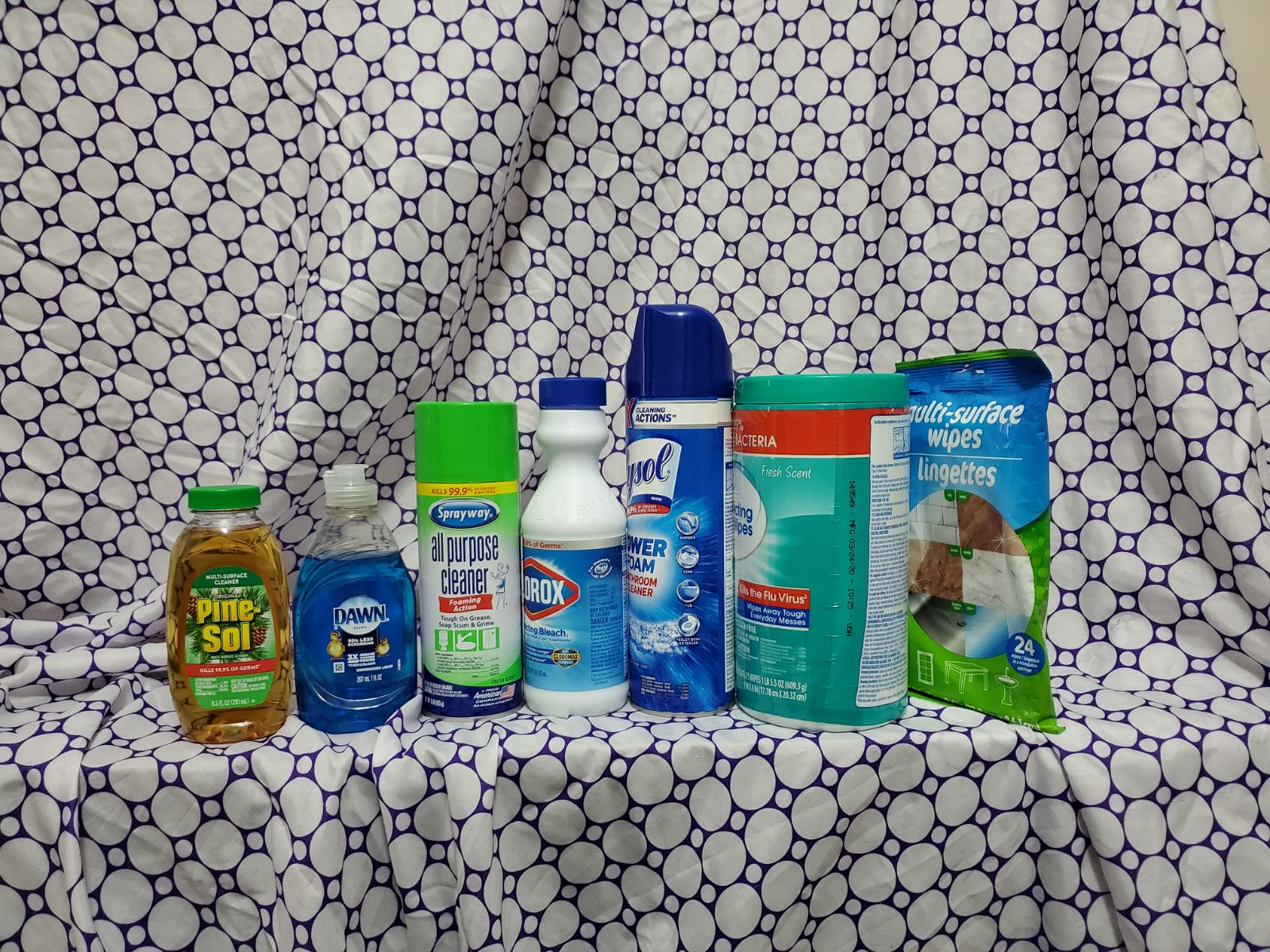 Household supplies Bundle of Seven