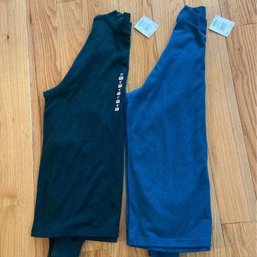 2 NEW Croft & Barrow L/S knit shirts XLT