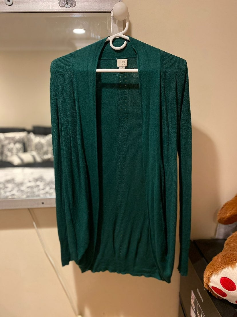 Forest Green Cardigan Size S