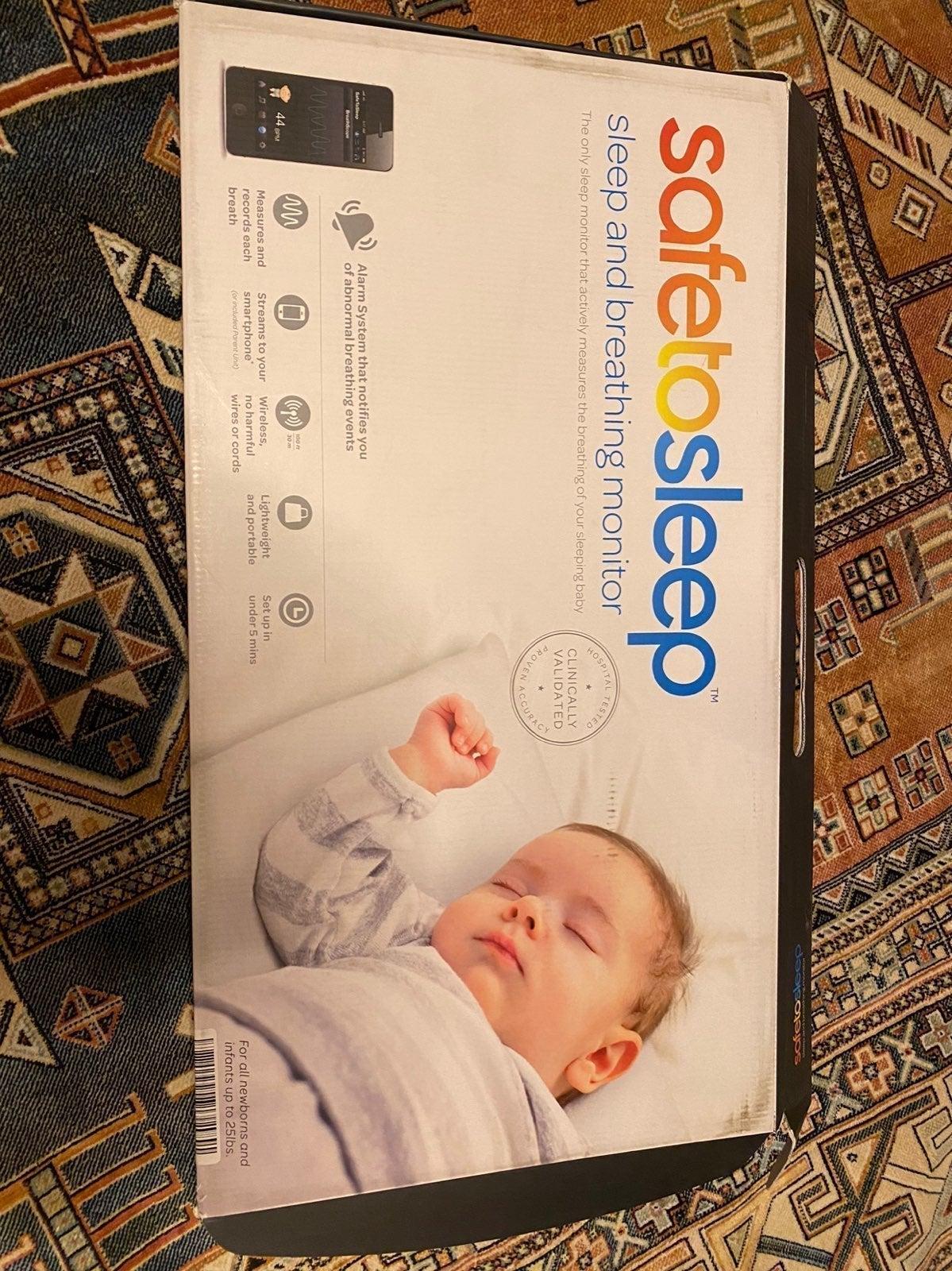 Safe to sleep baby monitor