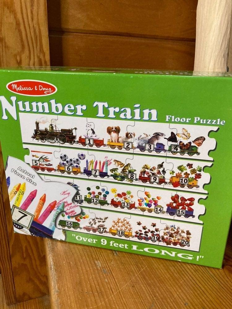 Melissa and Doug - Train Puzzle