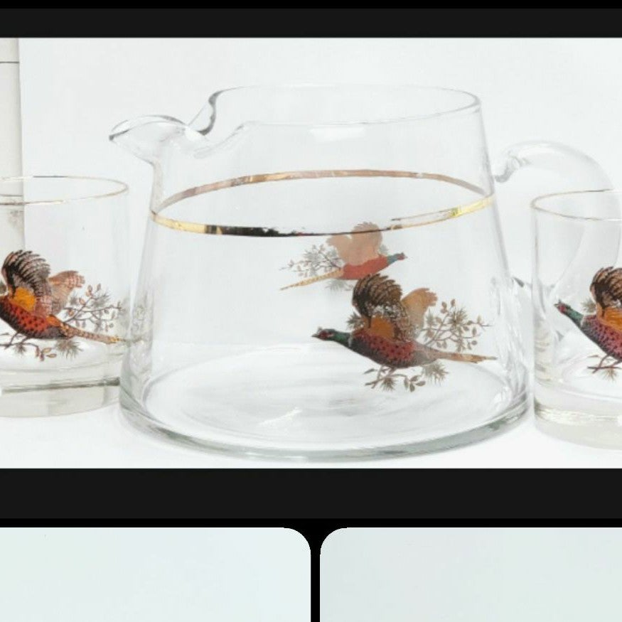 Pheasants by West Virginia Glass Special