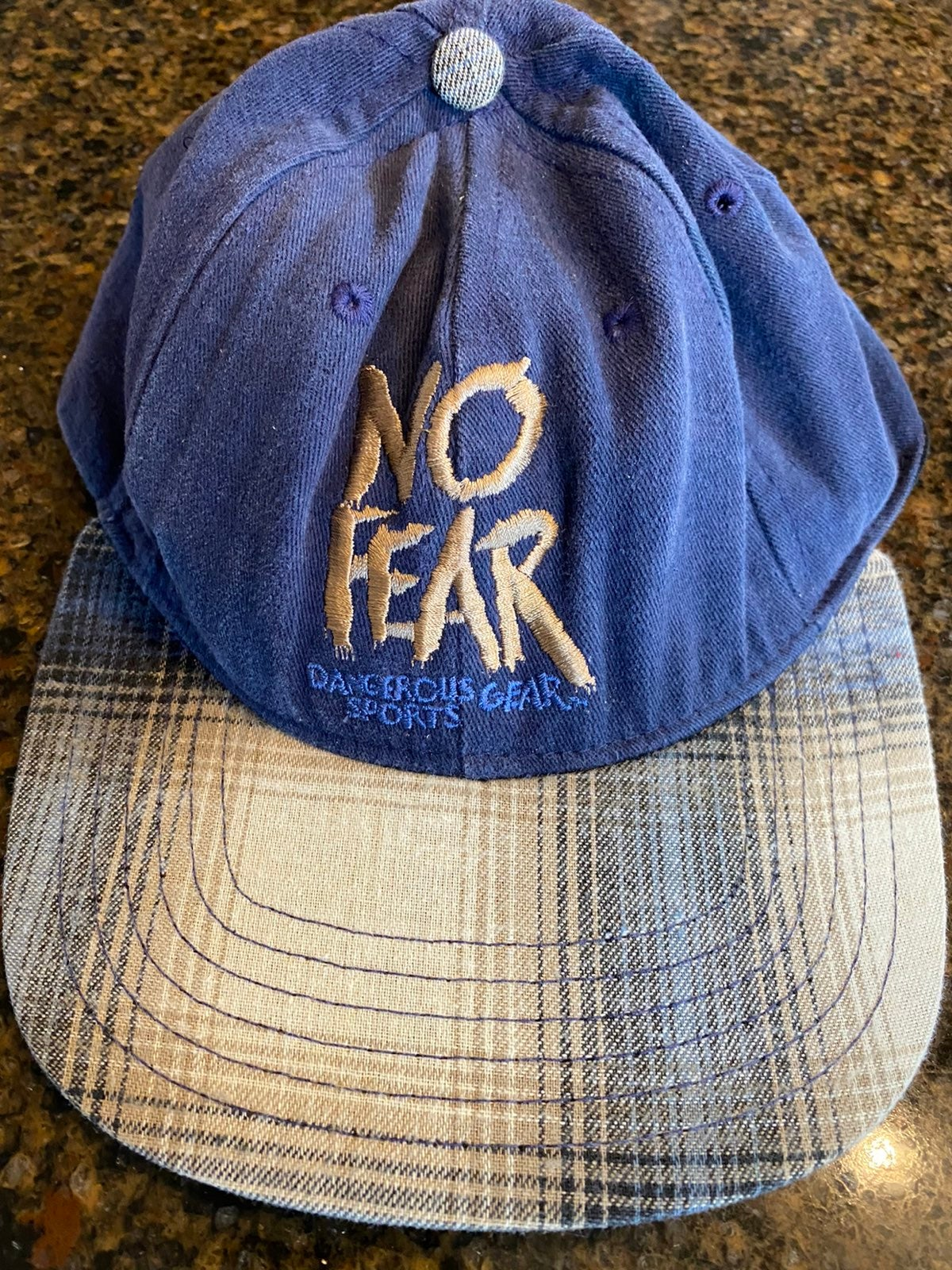 Vintage no fear hat 90s extreme sports