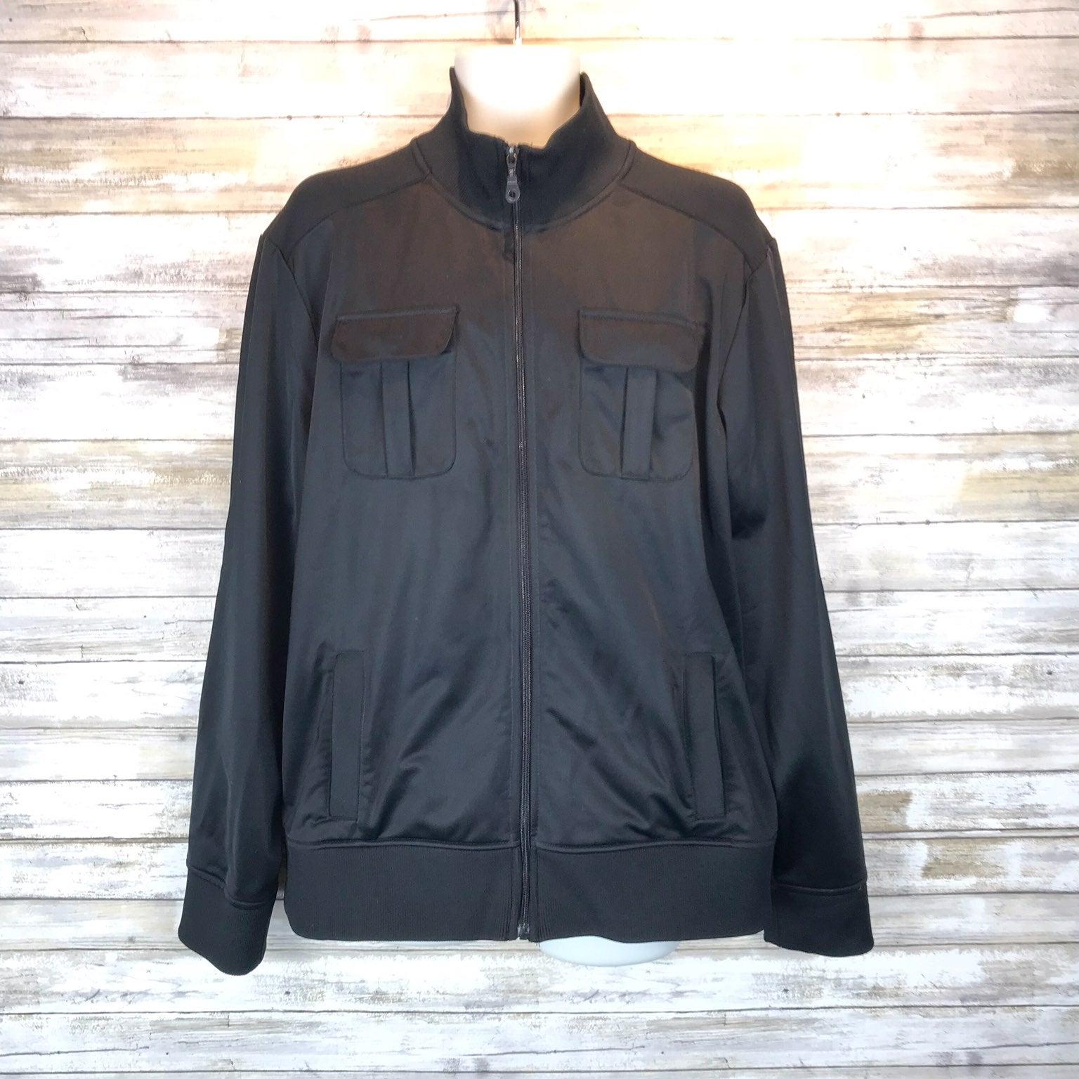 APT 9 black zipper jacket sz XL