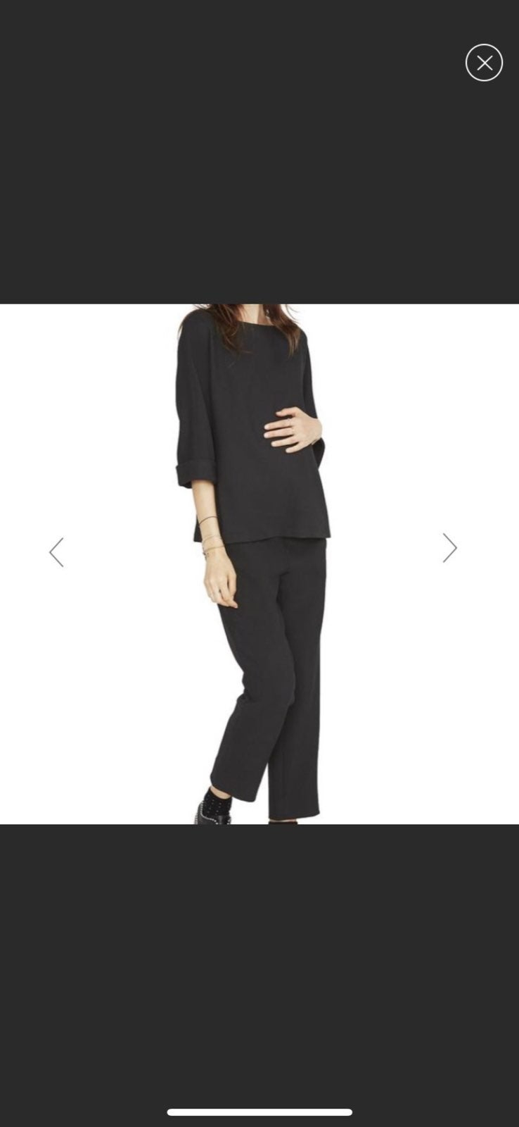 HATCH Maternity The SAM pullover