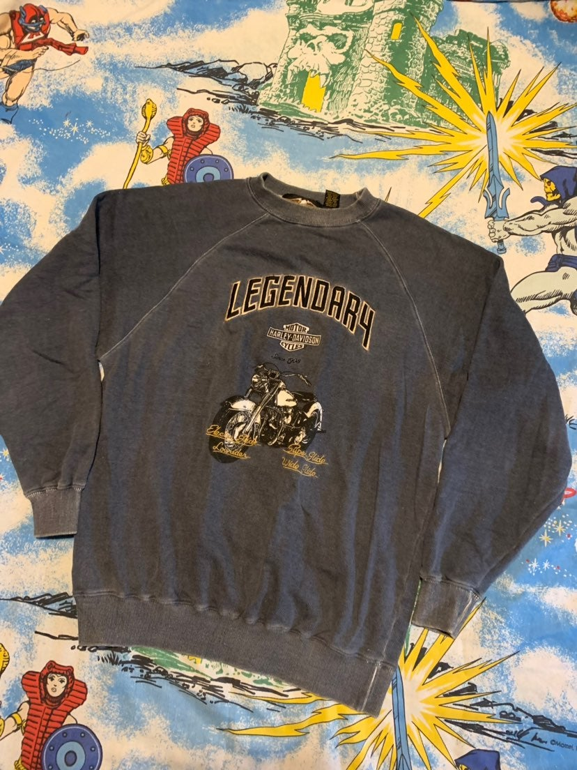Harley Davidson Mens Crewneck Sweatshirt