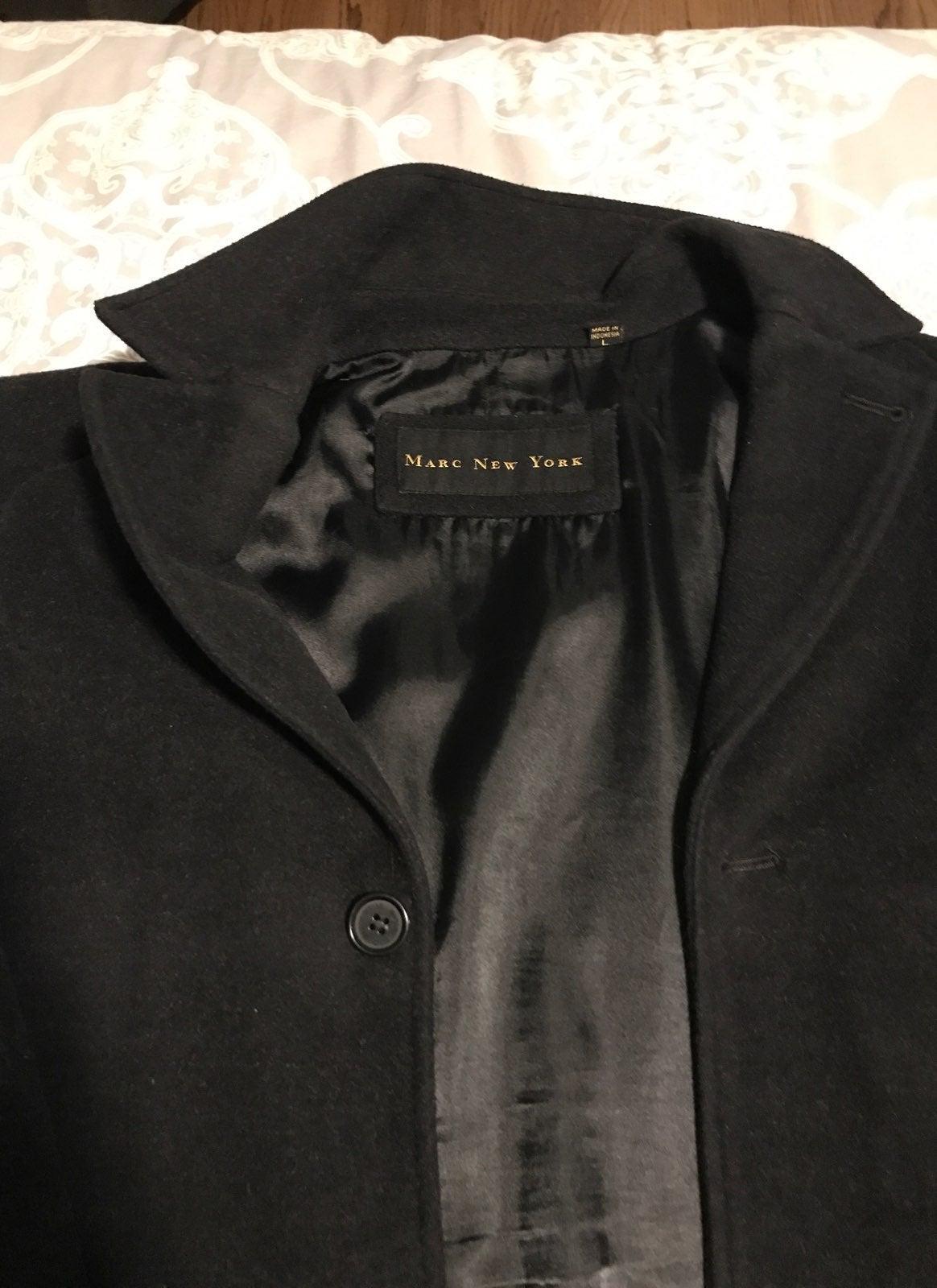 Marc NY Men's Wool Coat