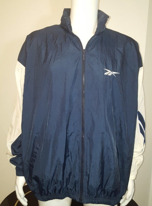 Vintage Reebok Windbreaker Jacket Men XL