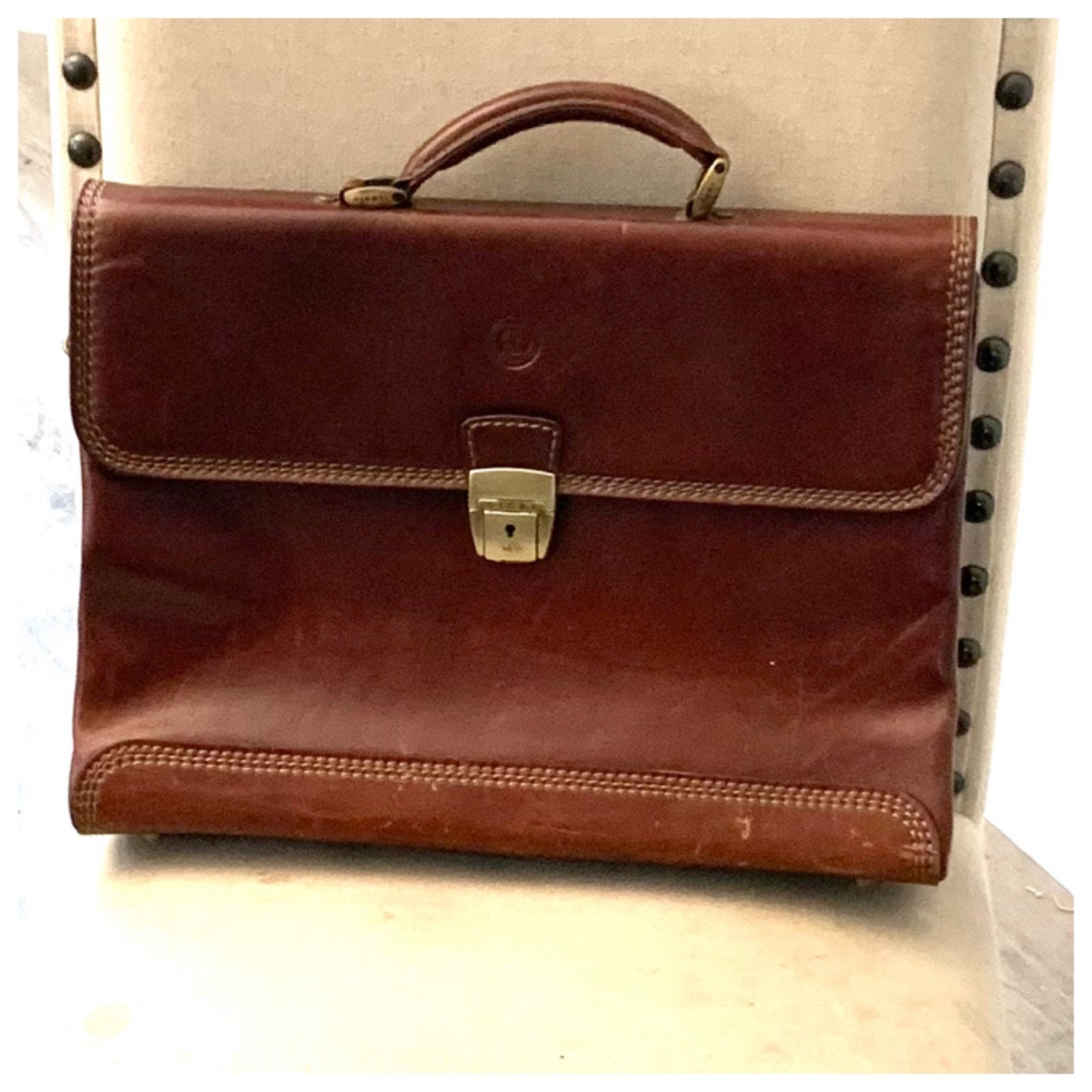 Giudi Leather Biefcase