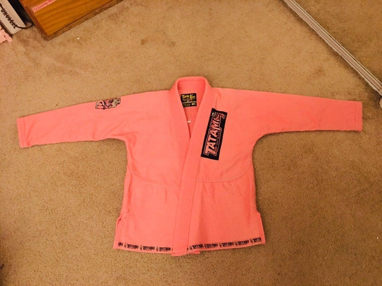 Girls Pink Jiujitsu Gi M1 - Tatami