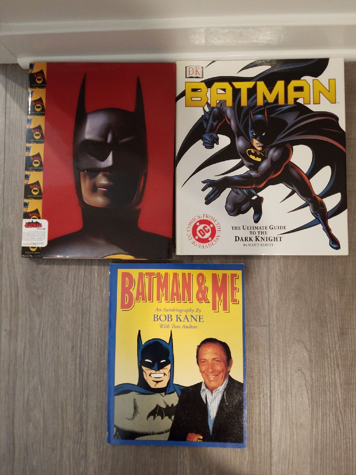 Batman books - Lot of three books
