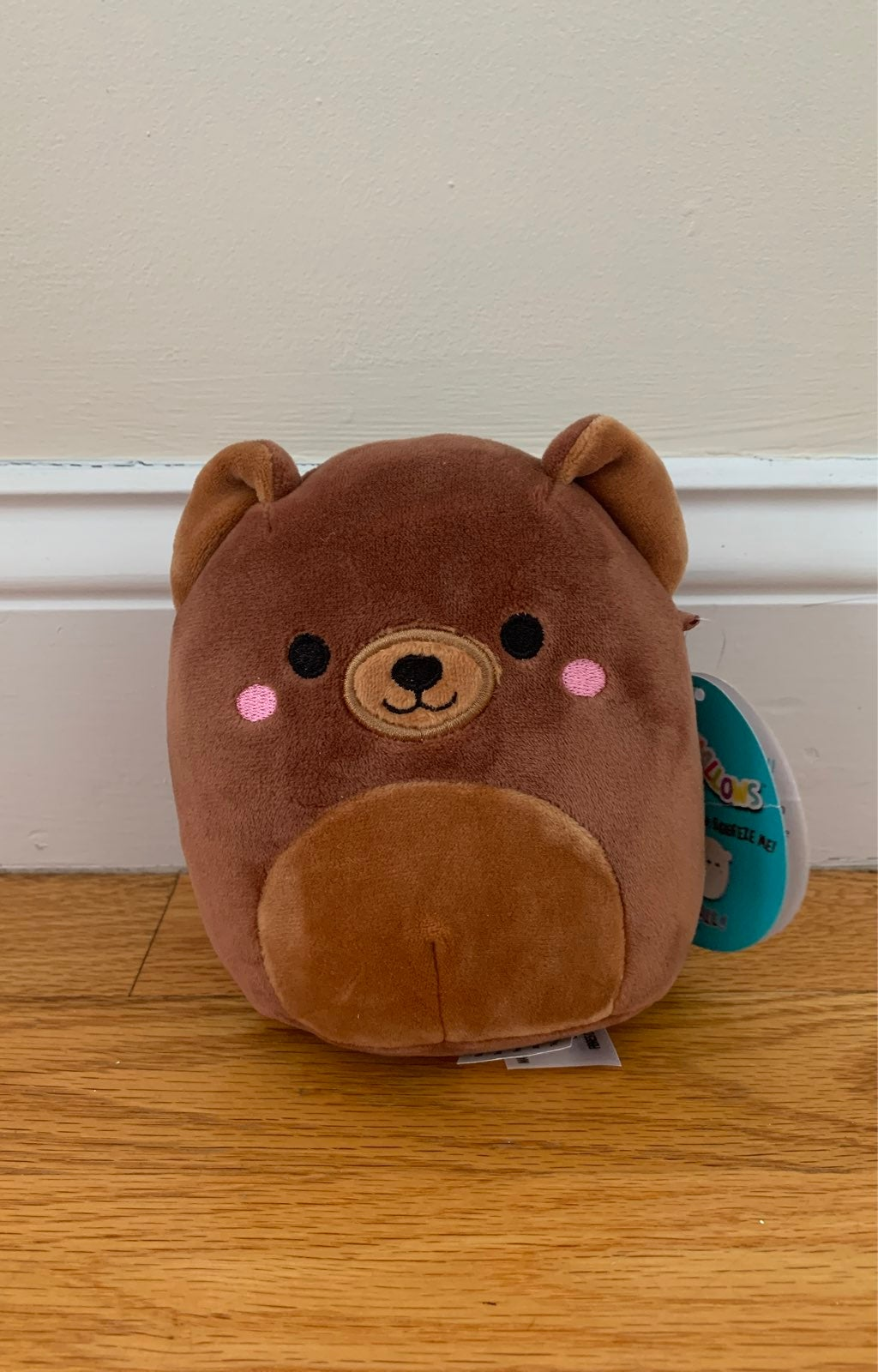 5'' Squishmallow Omar the Brown Bear