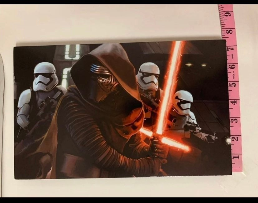 Star Wars Kylo Ren foam decor piece