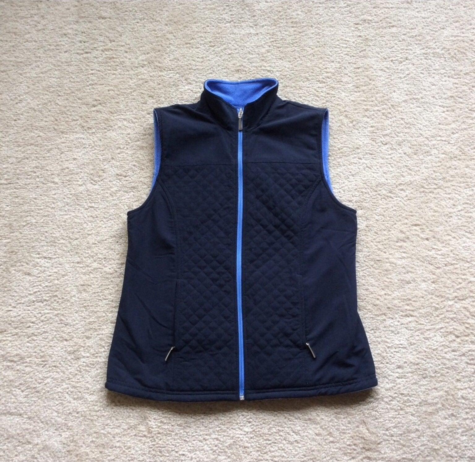 Womans Karen Scott reversible vest