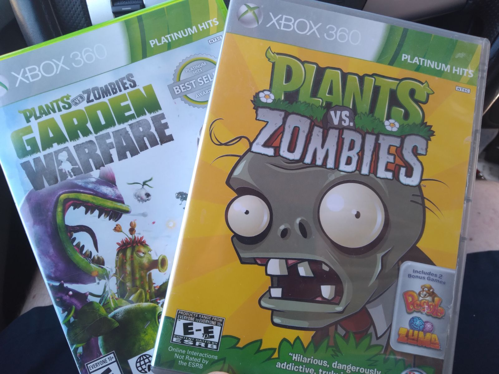 Plants Vs zombies Xbox 360 Bundle