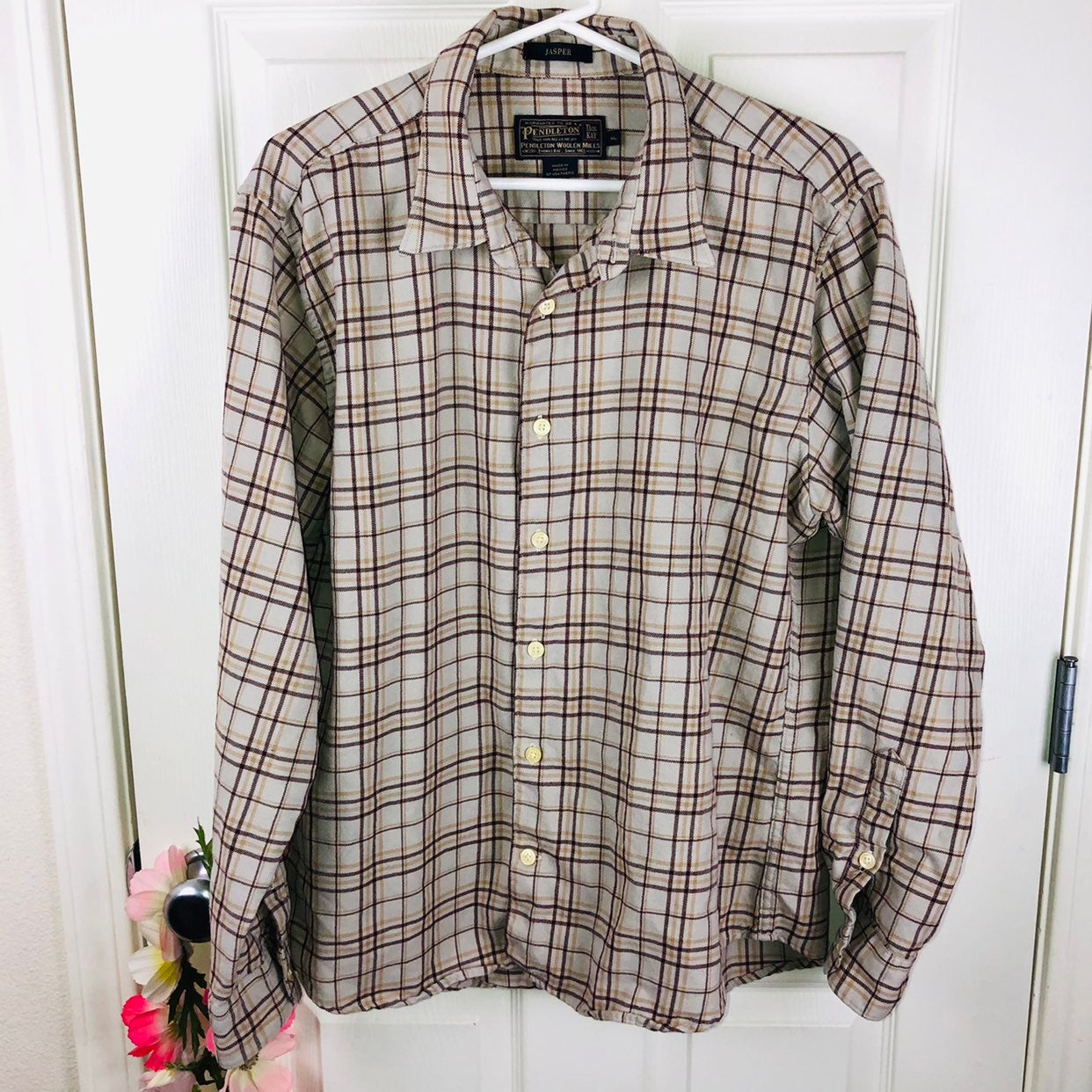 Pendleton Jasper plaid wool shirt xl