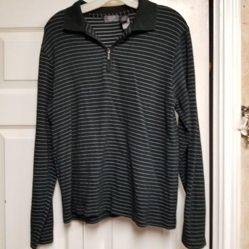 Men's Crazy Horse Quarter Zip Sweater Sm