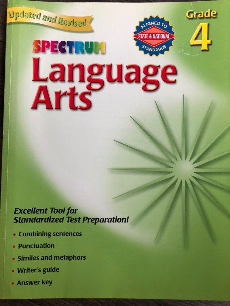Language Arts Workbook