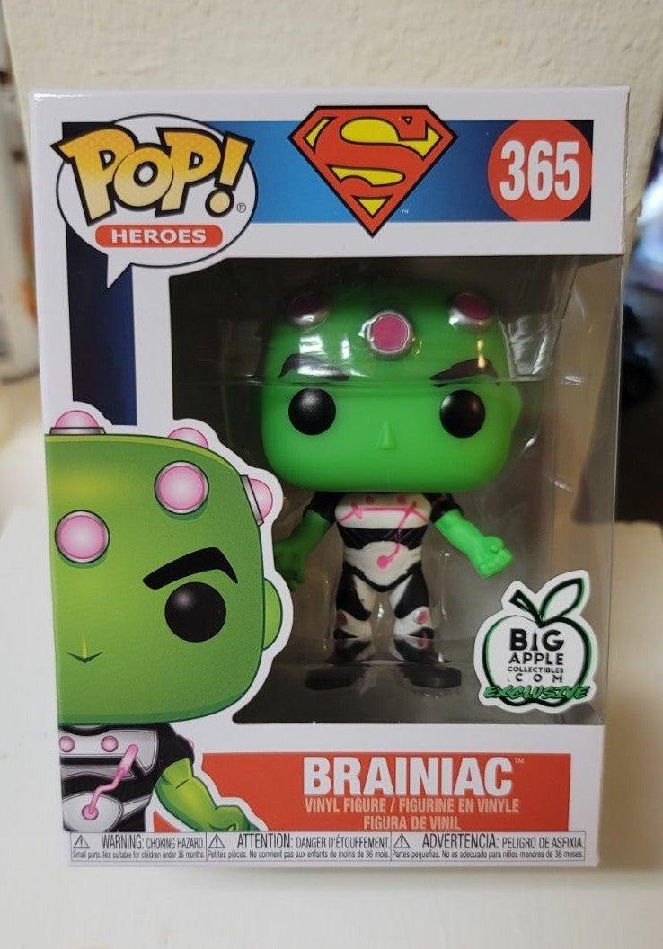 Funko Pop Big Apple Exclusive Brainiac