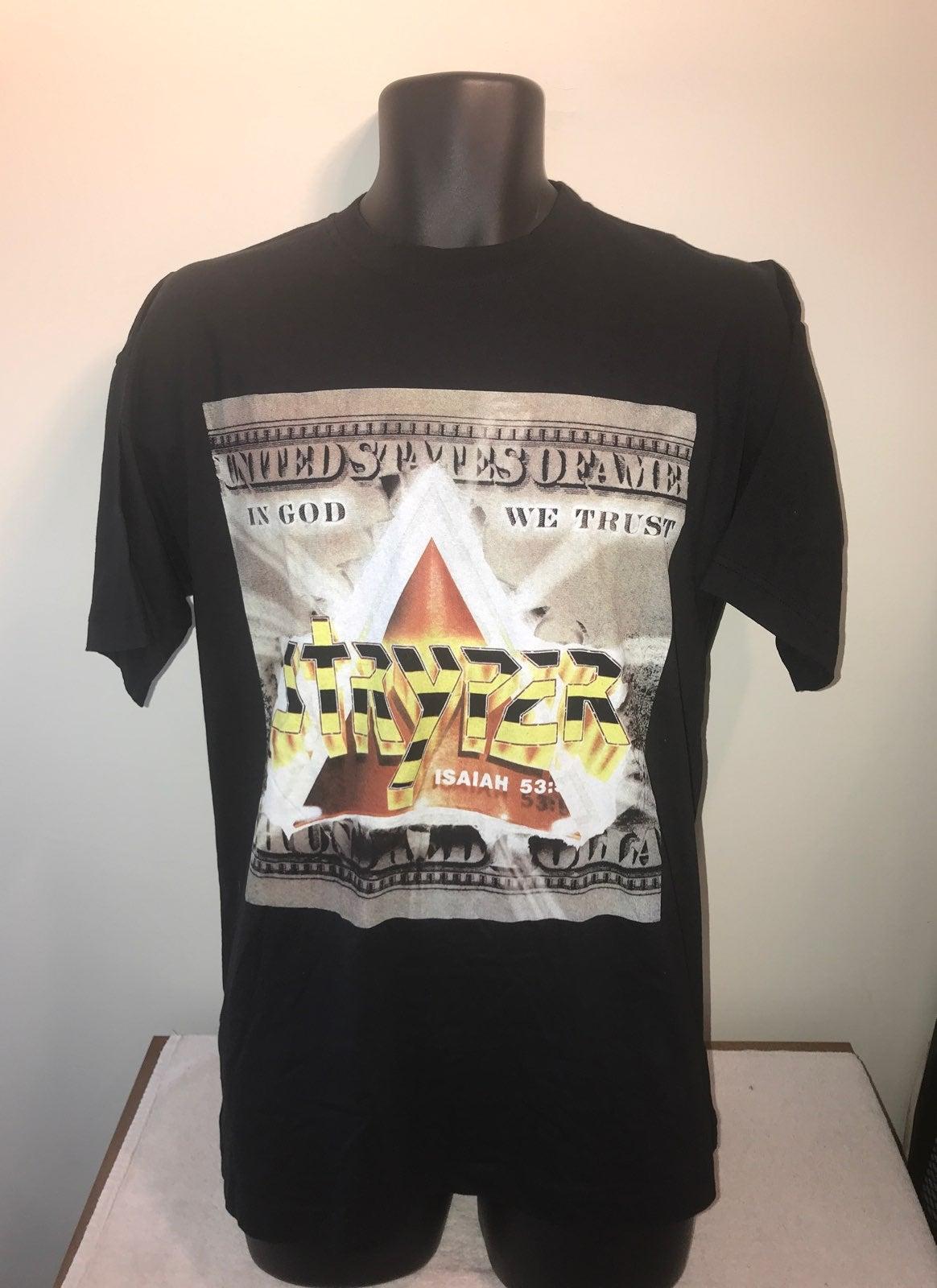 Men's STRYPER Heavy Metal Rock T Shirt