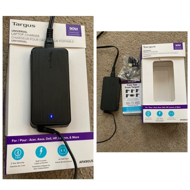 Targus universal laptop charger 90w
