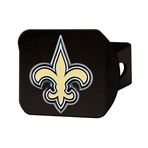 NFL New Orleans Saints Metal Hitch Cover