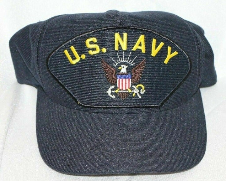 United States Navy Eagle Patch Hat