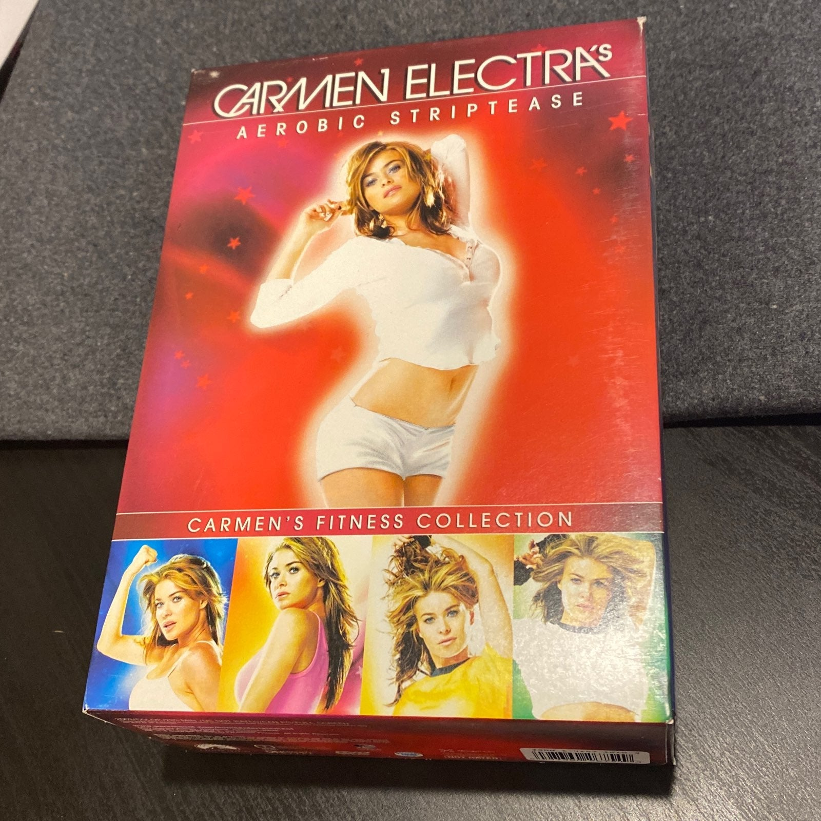 Carmen Electra's aerobic striptease DVD