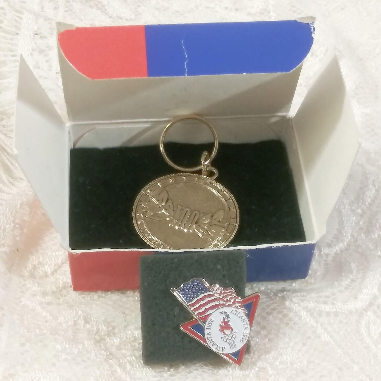 1996 Atlanta Olympics Keychain & Pin